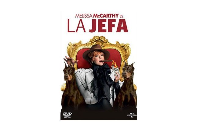 la-jefa-dvd