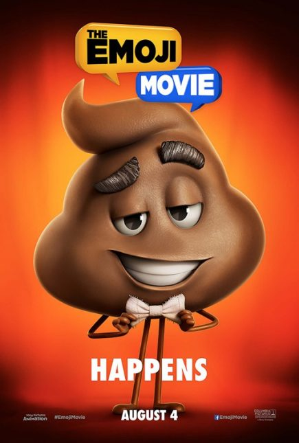 emoji movie poster crap