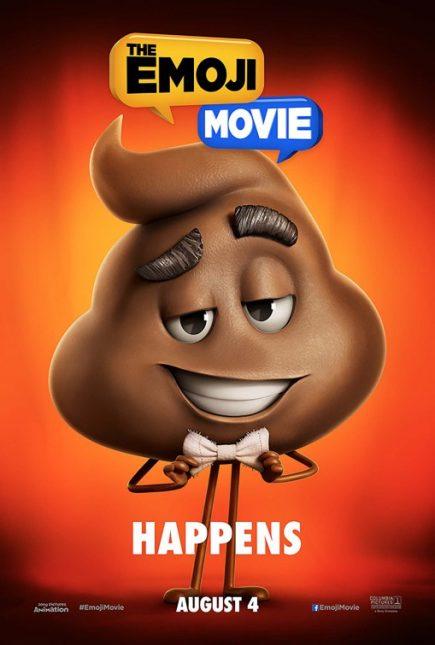 emoji movie poster crap