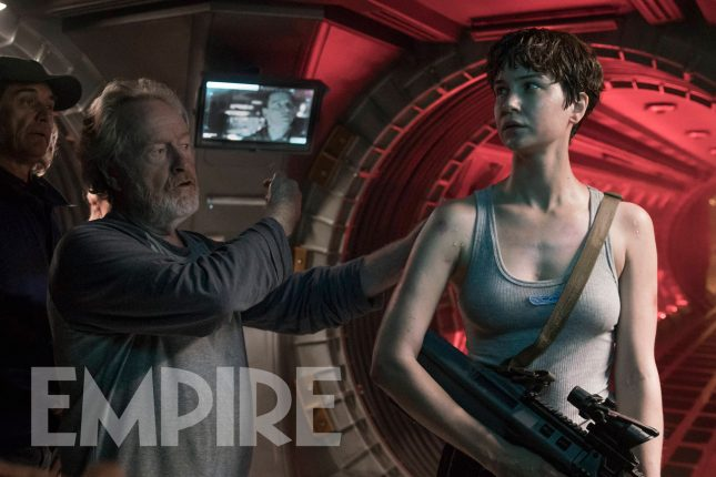 alien covenant ridley scott katherine waterston