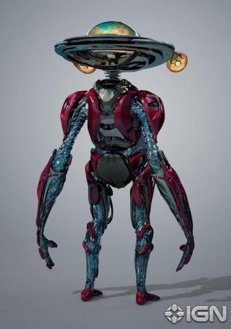 arte conceptual alfa 5 power rangers