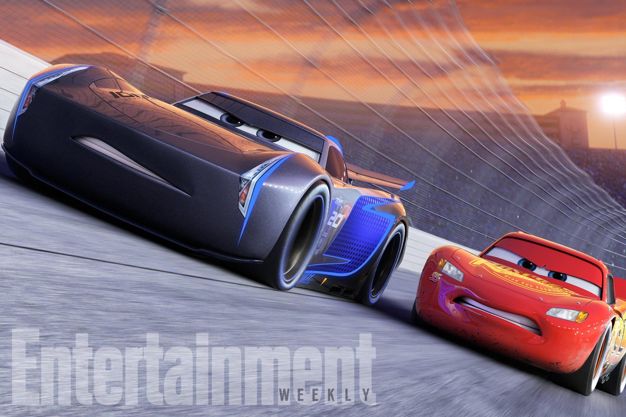 Cars 3 jackson mcqueen