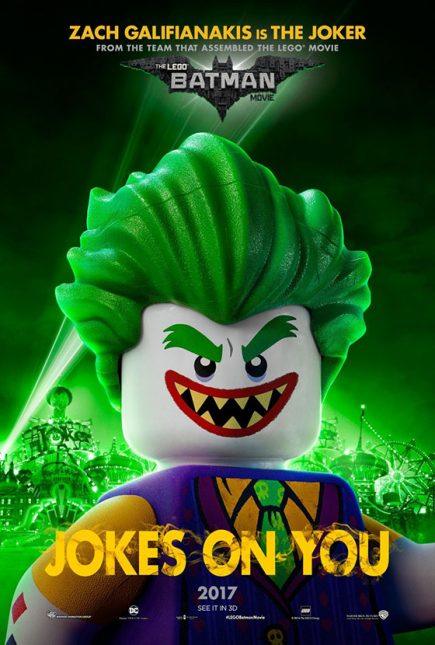 Joker poster lego batman pelicula