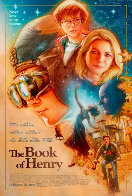 book of henry retro poster