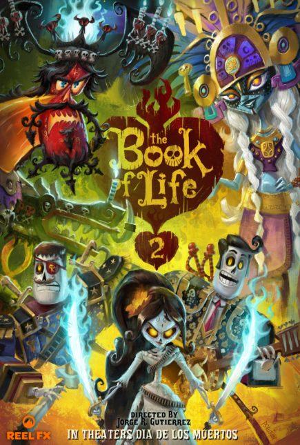 poster el libro de la vida 2