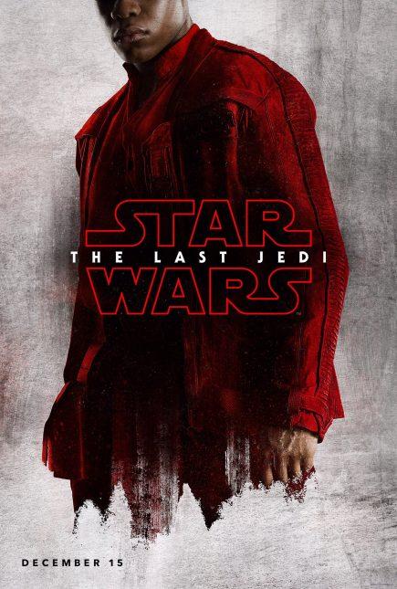 star wars the last jedi poster finn 435x645 - Breve Detrás de Cámaras y Pósters con los Personajes de Star Wars: The Last Jedi