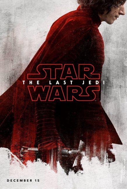 star wars the last jedi poster kylo ren 435x645 - Breve Detrás de Cámaras y Pósters con los Personajes de Star Wars: The Last Jedi