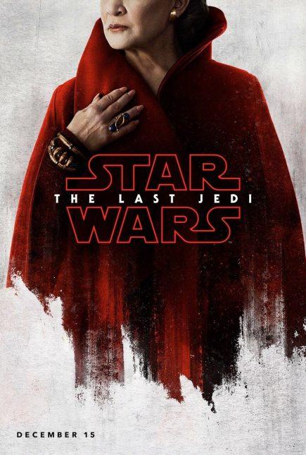 star wars the last jedi poster leia 435x645 - Breve Detrás de Cámaras y Pósters con los Personajes de Star Wars: The Last Jedi