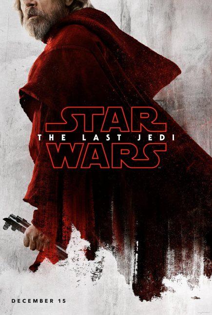 star wars the last jedi poster luke 435x645 - Breve Detrás de Cámaras y Pósters con los Personajes de Star Wars: The Last Jedi