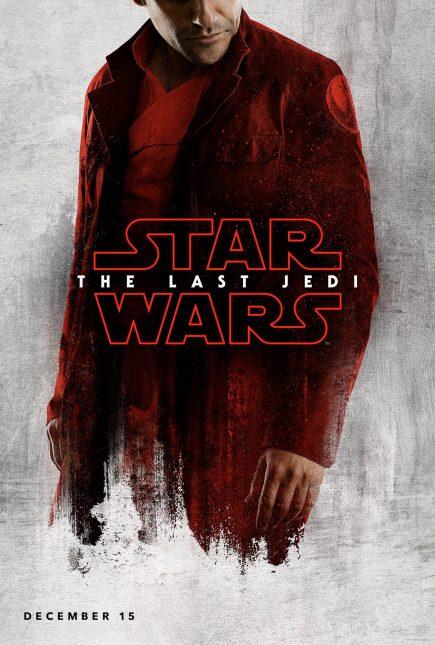 star wars the last jedi poster poe dameron 435x645 - Breve Detrás de Cámaras y Pósters con los Personajes de Star Wars: The Last Jedi