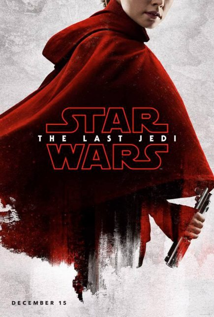 star wars the last jedi poster rey 435x645 - Breve Detrás de Cámaras y Pósters con los Personajes de Star Wars: The Last Jedi