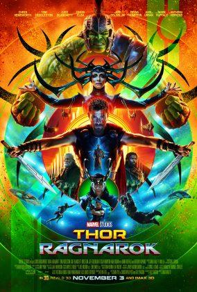 thor ragnarok poster 284x420 - Galería de Imágenes de Thor: Ragnarok