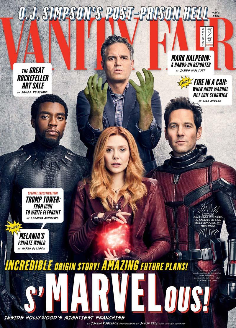 avengersvanityfair001 - Teaser Trailer de Avengers: Infinity War con todo y Poster