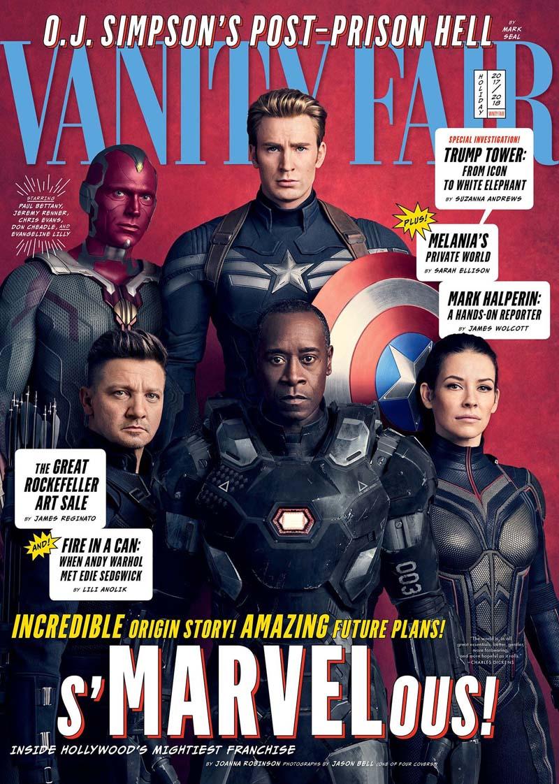 avengersvanityfair002 - Teaser Trailer de Avengers: Infinity War con todo y Poster