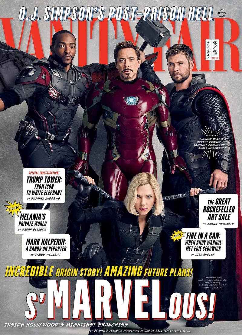 avengersvanityfair003 - Teaser Trailer de Avengers: Infinity War con todo y Poster