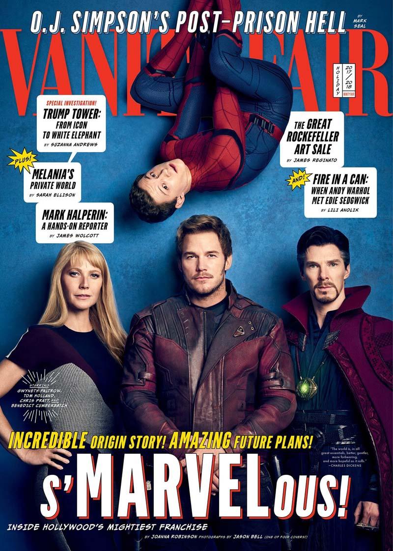 avengersvanityfair004 - Teaser Trailer de Avengers: Infinity War con todo y Poster