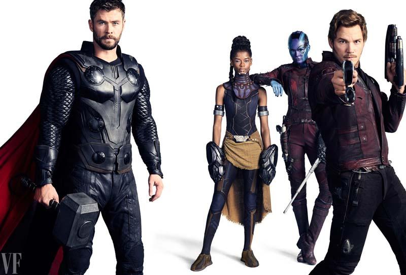 avengersvanityfair006 - Teaser Trailer de Avengers: Infinity War con todo y Poster