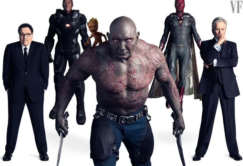avengersvanityfair007 - Teaser Trailer de Avengers: Infinity War con todo y Poster