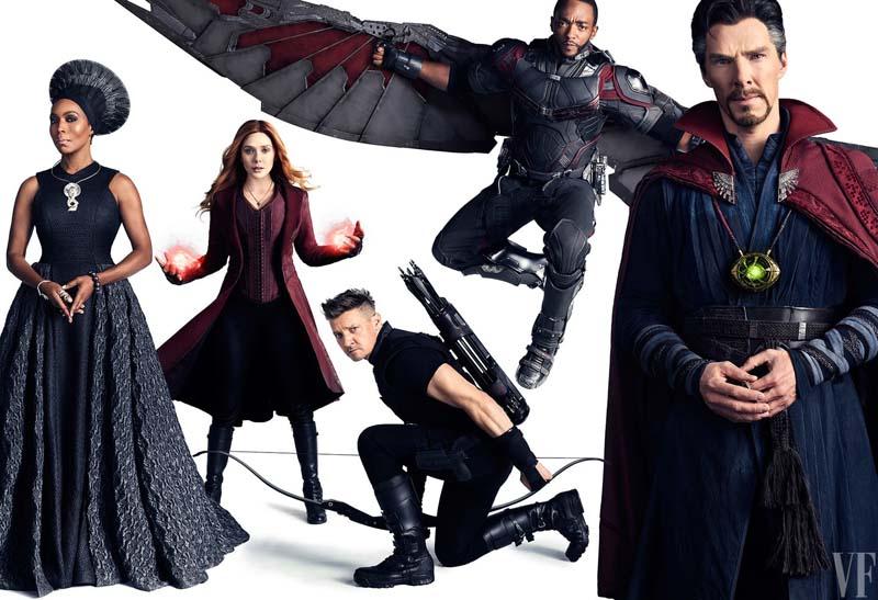 avengersvanityfair008 - Teaser Trailer de Avengers: Infinity War con todo y Poster