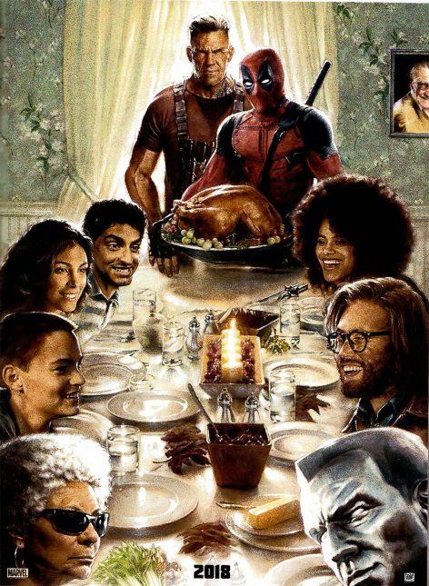 deadpool 2 poster 472x645 - Deadpool Se Transforma en Bob Ross para el Primer Teaser de la Secuela (Ahora con Sinopsis)