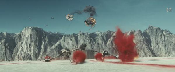 star wars last jedi trailer images 8 600x248 - Nuevo Spot e Imágenes de Star Wars: Los Últimos Jedi