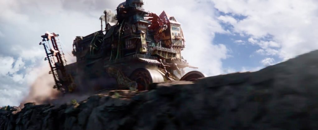 mortal engines movie image 3 1022x420 - Teaser de Máquinas Mortales: La Nueva Épica de Peter Jackson