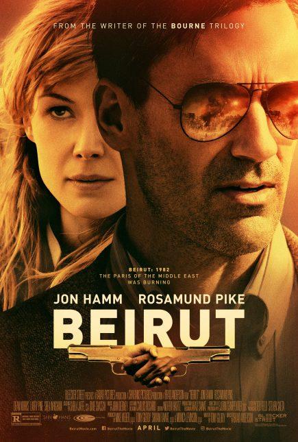 beirut poster 435x645 - Trailer de Beirut con Jon Hamm