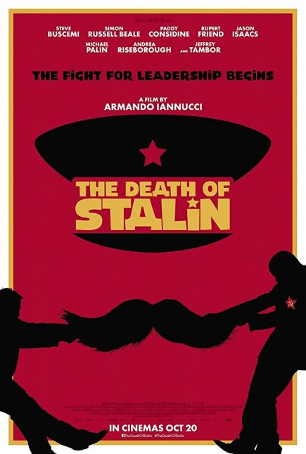 death of stalin poster 435x645 - Trailer de The Death of Stalin