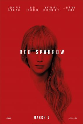 red sparrow poster 284x420 - Trailer de Red Sparrow con Jennifer Lawrence