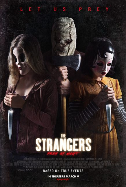 the strangers prey at night poster 435x645 - Trailer de The Strangers: Prey at Night