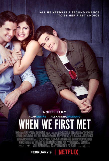 when we first met poster netflix 435x645 - Trailer de Cuando Nos Conocimos: Viaja en el Tiempo y Evita la Friend Zone