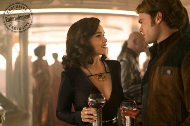 han solo movie images emilia clarke ew 630x420 - Harrison Ford fue Asesor en Solo: Una Historia de Star Wars
