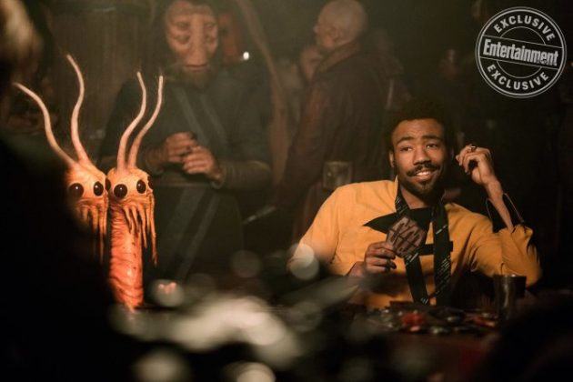 han solo movie images lando donald glover ew 630x420 - Harrison Ford fue Asesor en Solo: Una Historia de Star Wars