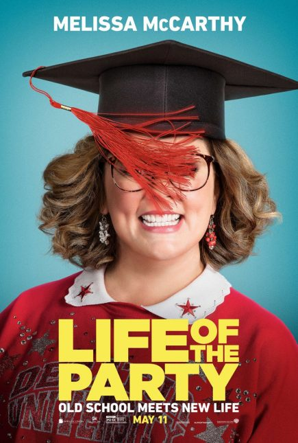 life of the party poster 435x645 - Trailer de Life of the Party con Melissa McCarthy