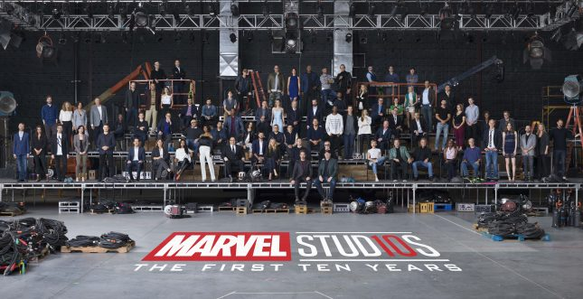 mcu class photo 645x331 - El Décimo Aniversario del Universo Cinematográfico Marvel