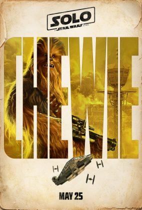 solo a star wars story poster chewbacca 284x420 - Harrison Ford fue Asesor en Solo: Una Historia de Star Wars