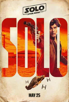 solo a star wars story poster han alden ehrenreich 284x420 - Harrison Ford fue Asesor en Solo: Una Historia de Star Wars