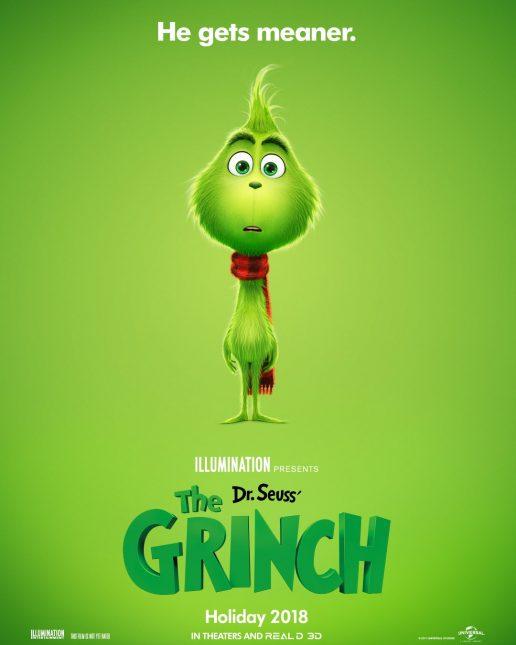 the grinch poster 516x645 - Primer Vistazo al Grinch