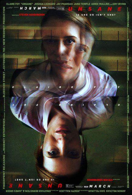unsane poster 436x645 - Primer Clip de Unsane: La Película Grabada con iPhones