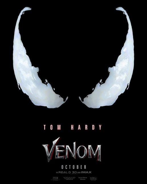 venom movie poster 516x645 - Primer Teaser Trailer Oficial de Venom con Tom Hardy