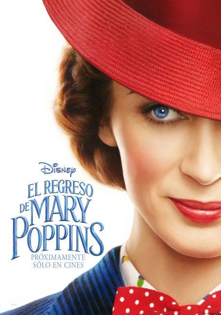 El regreso de Mary Poppins póster 452x645 - Primer Adelanto de El Regreso de Mary Poppins con Emily Blunt