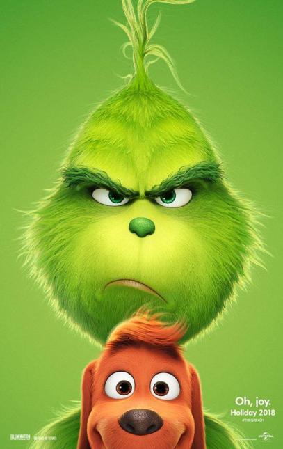 The Grinch Teaser 1 407x645 - Primer Trailer Oficial y Doblado de El Grinch