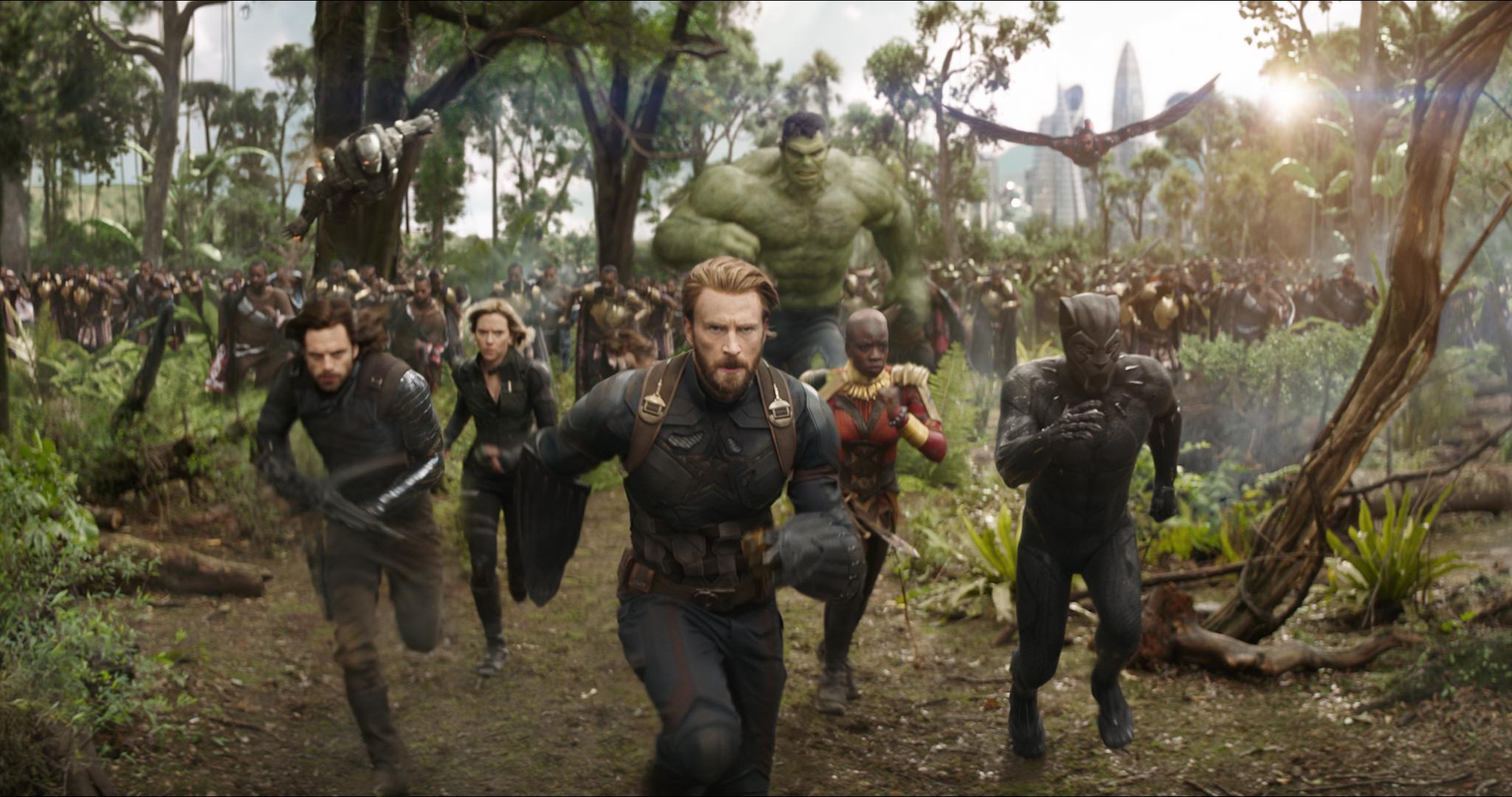 avengers infinity war image group - Avengers: Infinity War - La Reseña Cinergetica (Spoilers) y Análisis