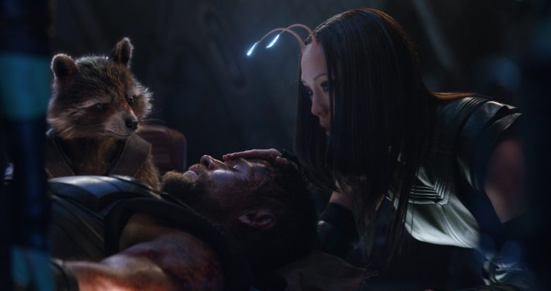 avengers infinity war image thor guardians 796x420 - Galería de Imágenes de Avengers: Infinity War
