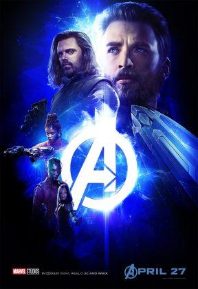 avengers infinity war poster captain america bucky 288x420 - Los Personajes de Avengers: Infinity War