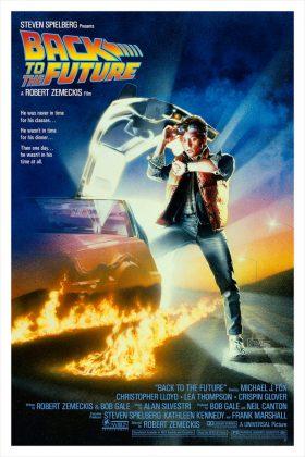 backtothefuture poster teaser 280x420 - Tributo de Ready Player One a Películas Clásicas en Pósters