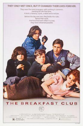 breakfastclub poster 277x420 - Tributo de Ready Player One a Películas Clásicas en Pósters