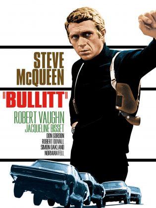 bullitt poster 315x420 - Tributo de Ready Player One a Películas Clásicas en Pósters