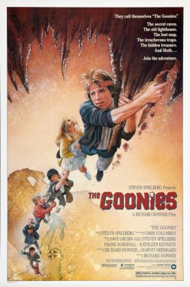 goonies poster 278x420 - Tributo de Ready Player One a Películas Clásicas en Pósters