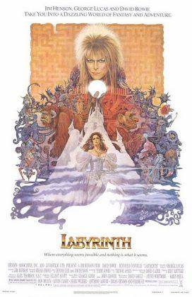 labyrinth poster 272x420 - Tributo de Ready Player One a Películas Clásicas en Pósters